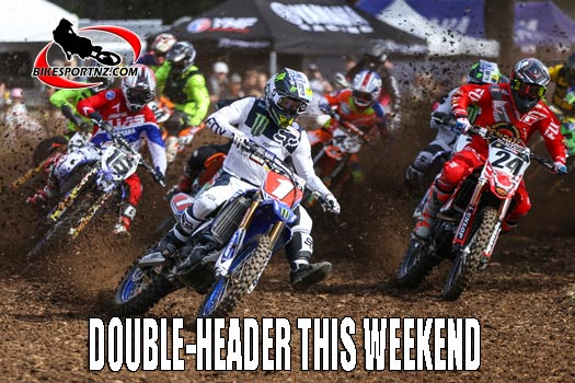 DOUBLE-HEADER THIS WEEKEND