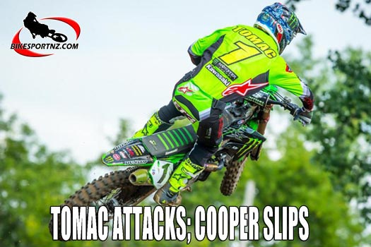 TOMAC ATTACKS; COOPER SLIPS