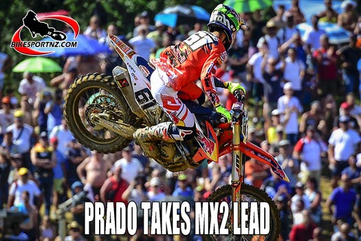 PRADO TAKES MX2 LEAD