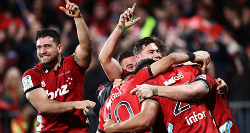Crusaders apply the power for final win