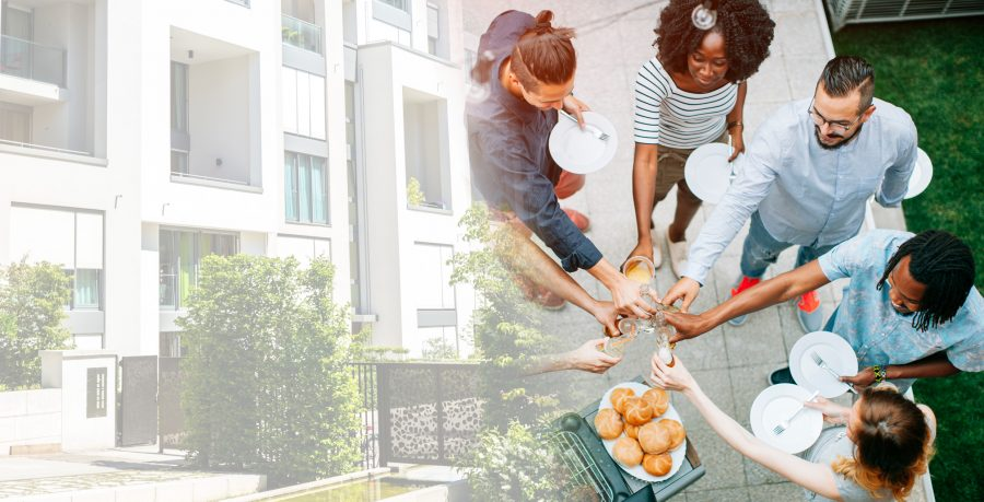 Developing a sense of community that keeps tenants around